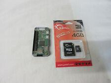 Raspberry Pi Zero W Wireless 1.1 with case and new 4GB Micro SD Card