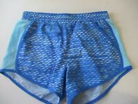 Womens Size Small Under Armour Heat Gear Shorts Blue Activewear