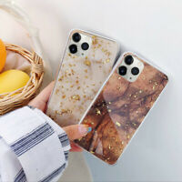 For iPhone 11 Pro Max Marble Shockproof Rubber Soft Protective Phone Case Cover
