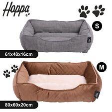 Hoppa Ultra Soft Dog & Cat Pet Bed Basket Comfy Petbed Machine Washable Non Slip