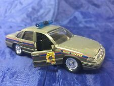 Mississippi Highway Safety Patrol 1:43 Crown Victoria Road Champs Police Toy Car