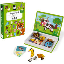 Janod Animals Magneti' Book - Early Development Games