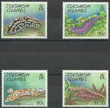 Timbres Faune marine Salomon 674/7 ** lot 20884