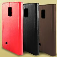 For Samsung Galaxy Note Edge Leather Case - Flip Folio Wallet Pouch Card Cover