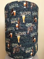 BEER BREWERY CRAFT STOUT 5 GALLON WATER COOLER BOTTLE COVER KITCHEN DECORATION