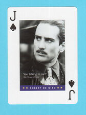 Robert De Niro Taxi Driver Movie Quote Playing Card