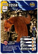 Fossa #92 Deadly 60 TCG Trade Card (C377)