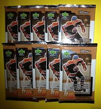 10 Lot 1999 Upper Deck Retro McDonald's Hockey Cards Unopened Wax Packs Gretzky