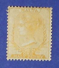 1875 MALTA 1/2d SCOTT# 3 S.G.# 10 UNUSED  CS16259