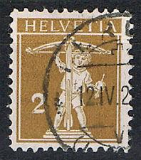 Suiza 111 I con sello, mié. 11,-