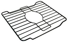 "Small Kitchen Dish Sink Protector Mat Vinyl Coated Steel 12"" X 10"" Durable Rack"
