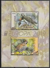 BULGARIA 2019 EUROPA CEPT NATIONAL BIRDS .BLOCK MNH