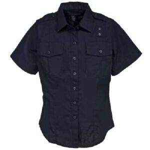 NWT 5.11 Tactical Series Uniform Shirt Mens Size 5XL Short Sleeve Midnight Navy