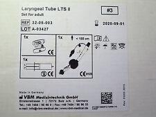 VBM Medizintechnik Larynx-Tubus / Laryngeal Tube LTS II Gr 3 Adult REF 32-05-003