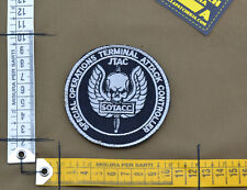 """Ricamata / Embroidered Patch """"JTAC / SOTACC"""" with VELCRO® brand hook"""