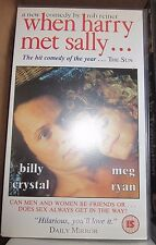 When Harry Met Sally film video cassette tape VHS - Meg Ryan Billy Crystal