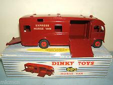 """DINKY TOYS MODEL No.980 Express Van Cavallo """"US Issue"""" &"""" MEGA RARE """"VN Nuovo di zecca con scatola"""