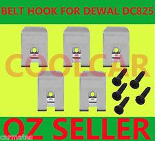 Driver Belt Hooks+5Screw for Dewalt 18v battery DC825 DC827 DC845 DC855 DC820 OZ
