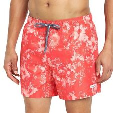 "Calvin Klein M Men's Red Floral Swim Shorts BNWT BN CK Swimming 31""- 33"" RRP £50"