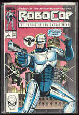 RoboCop Marvel Comic Book #1 First Issue Movie Tie-In Alan Grant Story