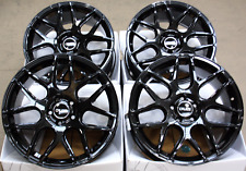 "ALLOY WHEELS 18"" CRUIZE CR1 GB GLOSS BLACK CONCAVE 5X118 LOAD RATED 18 ALLOYS"