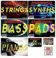 180GB Samples Sound Drums Synths Strings Piano Bass Pad FX Reason FL Studio MPC