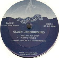 GLENN UNDERGROUND - 12 O' Clock Pumpkin - 1996 - Cajual - CAJ 255 - Usa