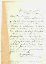 CIVIL WAR LETTER TO HELP A SICK SOLDIER 1864