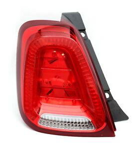 Rear Tailgate Light Tail Light Left for Abarth 500 595 Fiat 500 52007424