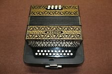 Hohner  2 row German button box accordion Key of G-C. Excellent used condition