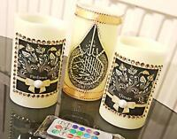 New Arabic LED Candle for Home Decor & Gift 3 in 1 with remote control