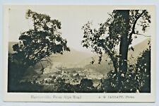 1920'S RP KODAK JARRATT POSTCARD HARRIETVILLE FROM THE ALPINE ROAD VICTORIA H78