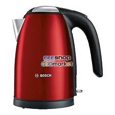Bosch TWK7804 1.7L 2200W Red Electric Kettle - 1.400 Kg