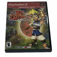 Jak and Daxter The Precursor Legacy Greatest Hits PlayStation 2 CIB Tested Works