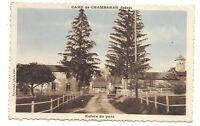 camp de chambaran  entrée du parc
