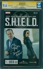 "S.H.I.E.L.D #1, Clark Gregg Signed ""Director Coulson."" Photo Cover, CGC 9.6"