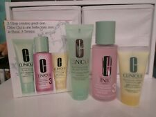 CLINIQUE 3-Step Skincare System Facial Soap, Clarifying Lotion, Moisturizer ~ #3