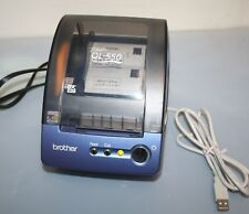 Brother QL500 P-Touch Thermal Label Maker Printer USED