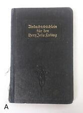 RARE 1924 Undachtsbuchlein fur den Herz Jesu Freitag Fritz Flinterhoff German