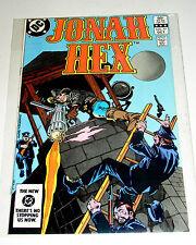 JONAH HEX #77  WESTERN SCARFACE BOUNTY HUNTER - DC BRONZE AGE