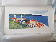 "1998 Hand-Signed Limited Edition ""Kotzebu Fish Camp"" by Rie Munoz"