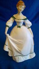Royal Worcester 1978 venendo di età bella signorina Figurina