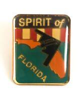 B-2 Stealth Bomber Spirit of Florida Lapel/Hat Pin Back