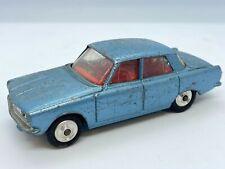 Corgi 252 Rover 2000 Vintage Original Diecast Car - Blue with Red Interior