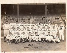 1927 New York Yankees Team Babe Ruth & Lou Gehrig Type 1 Original Photo PSA/DNA