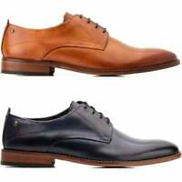 Base London SCRIPT Mens Formal Office Style Leather Lace Up Classy Derby Shoes