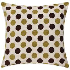 Cojines decorativos de color principal amarillo de poliéster para el hogar