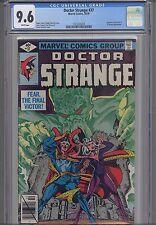 Doctor Strange #37  CGC 9.6 Marvel Comic in 1979: Dweller in Darkness: NEW Frame