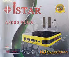 iStar Korea receiver box with Six months online TV code A8000 plus احدث موديل