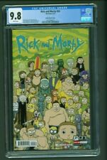 Rick and Morty #37 CGC 9.8 Sketch Edition Blank Variant Cover AIC Meeseeks